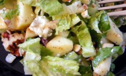 Recipe: Apple Blue Cheese Salad