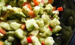 Recipe: Avocado Feta Salad