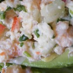 Recipe: Avocado Stuffed with Seafood
