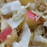 Recipe: Chicken Mustard Coleslaw With Apple