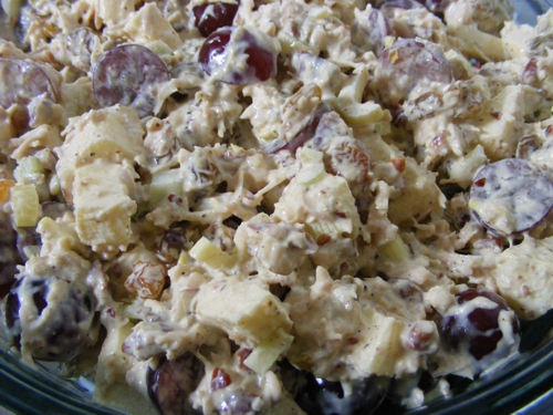 Fruity Curry Chicken Salad 500x375