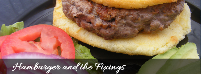 HamburgerAndFixings