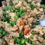 Mock Fried Rice (Quinoa!)