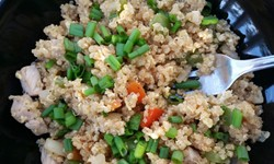Mock Fried Rice (Quinoa!)