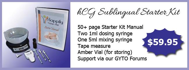 hCG Sublingual Starter Kit